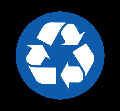 Bac bleu – Recyclage